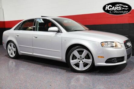 2008_Audi_A4 2.0T S-Line 6MT_4dr Sedan_ Chicago IL