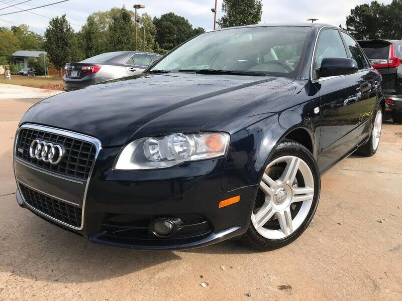 2008 Audi A4 2.0T W/ LEATHER SEAT/ MANUAL TRANSMISSION