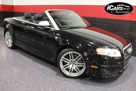 2008_Audi_RS4_2dr Convertible_ Chicago IL