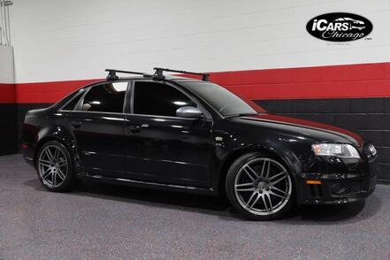 2008_Audi_RS4 6-Speed Manual_4dr Sedan_ Chicago IL