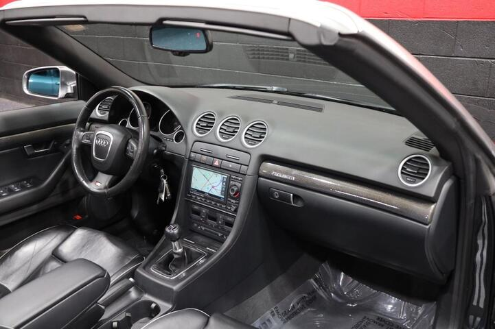 2008 Audi S4 6-Speed Manual 2dr Convertible Chicago IL