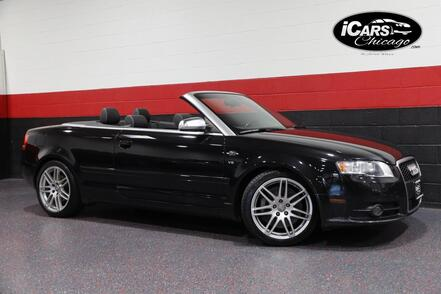 2008_Audi_S4_6-Speed Manual 2dr Convertible_ Chicago IL