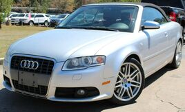2008_Audi_S4_w/ NAVIGATION & RED LEATHER SEATS_ Lilburn GA