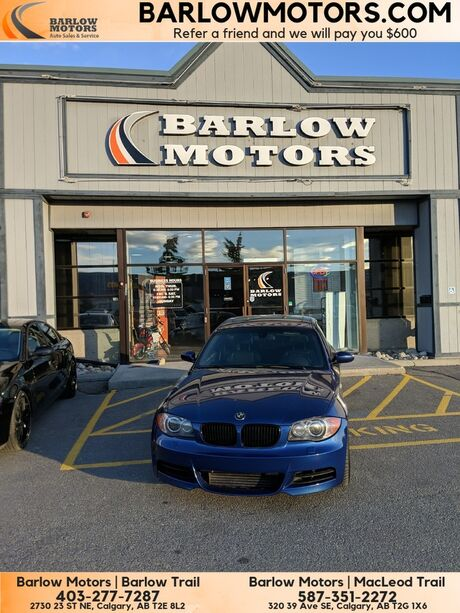 2008 BMW 1 Series 135i Dinan Staged 2 Immaculate condition Inspected Calgary AB