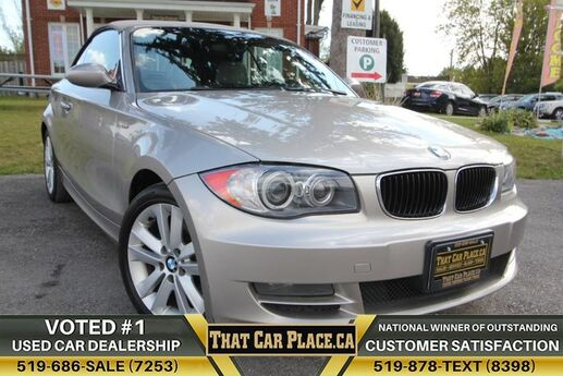 2008 BMW 128i ConvertibleHtd Lthr SeatsBluetoothMaintained&ServicedAlloysCLEAN CLEAN! London ON