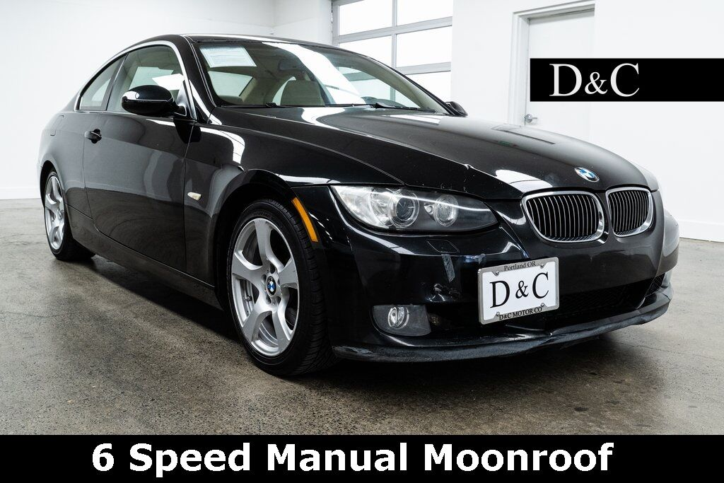2008 BMW 3 Series 328i 6 Speed Manual Moonroof Portland OR