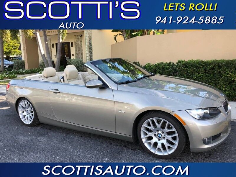 2008 BMW 3 Series 328i HARD TOP CONVERTIBLE! CLEAN CARFAX! NICE RIDE! CALL NOW!