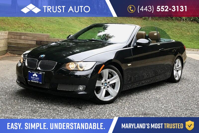 2008 Bmw 3 Series 335i Convertible Hardtop Sport Coupe