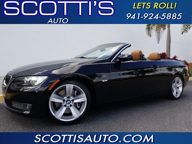 2008 BMW 3 Series 335iHARD TOP CONVERTIBLE~ BLACK/TAN~ 1-OWNER~ TURBO ~ GREAT COLOR COMBO! FINANCE AVAILABLE! EASY BUYING PROCESS~ Sarasota FL