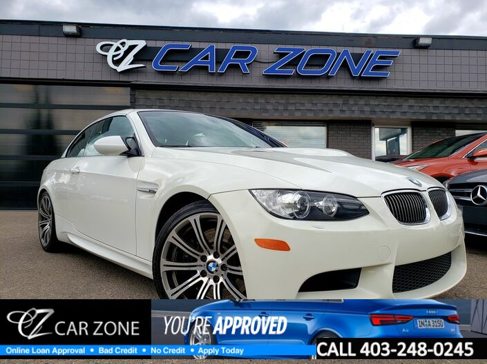 2008 BMW 3 Series M3 Convertible 6 speed manual Calgary AB