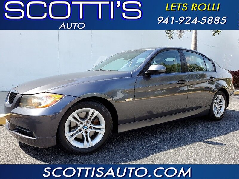 2008 BMW 3 Series ONLY 53K MILES~ WELL SERVICED~GREAT PRICE!!!~ SUPER LOW MILES~ FINANCE AVAILABLE!~ EASY PROCESS! Sarasota FL