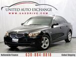 2008 BMW 5 Series 535xi AWD xDrive w/Xenon Headlamps, Power Sunroof, Sliding Sunshade, BMW Ambiance Lighting & Bluetooth Connectivity