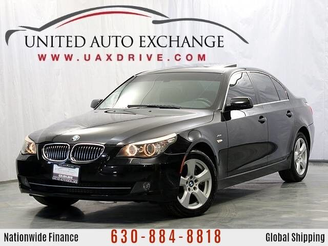 2008 BMW 5 Series 535xi AWD xDrive w/Xenon Headlamps, Power Sunroof, Sliding Sunshade, BMW Ambiance Lighting & Bluetooth Connectivity Addison IL