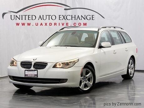 2008 BMW 5 Series 535xiT Wagon 3.0L Twin-Turbo Engine w/ Panoramic Sunroof, Heated Seats, Front and Rear Parking Aid, Bluetooth & Xenon Headlamps Addison IL