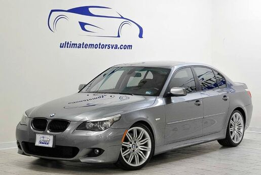 2008 BMW 550i M Sport Pkg-6 Speed Manual Midlothian VA