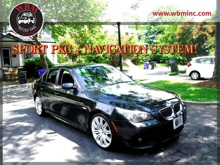 2008_BMW_550i_w/ Sport & Premium Packages_ Arlington VA