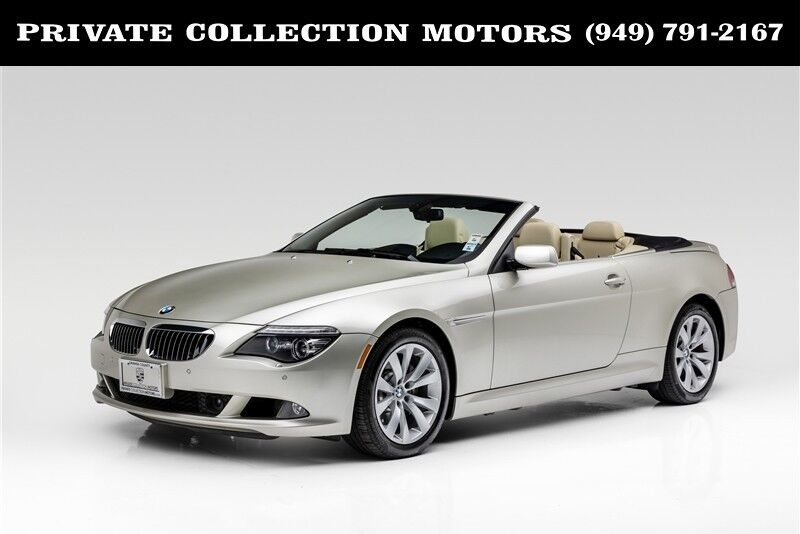 2008 BMW 6 Series 650i 6 Speed Manual Costa Mesa CA