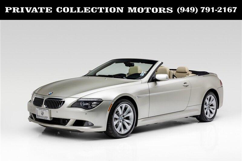 2008_BMW_6 Series_650i 6 Speed Manual_ Costa Mesa CA