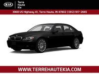 2008 BMW 7 Series 4dr Sdn 750i