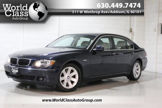 2008 BMW 7 Series 750Li - SUN ROOF POWER ADJUSTABLE HEATED LEATHER SEATS ALLOY WHEELS DUAL ZONE CLIMATE CONTROL SYSTEM Chicago IL