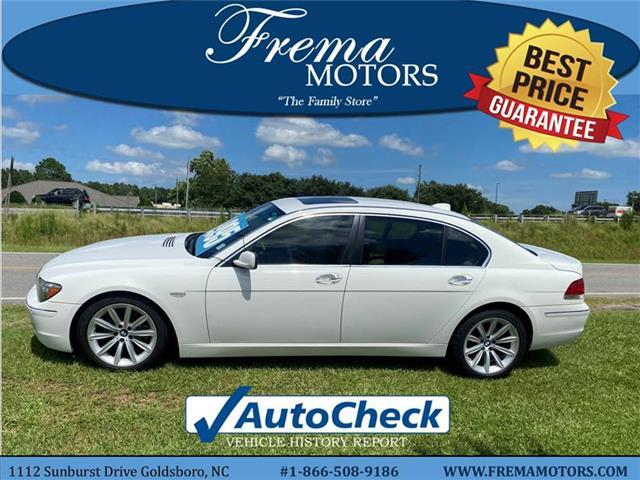 2008 BMW 750 Li Rear-wheel Drive Sedan