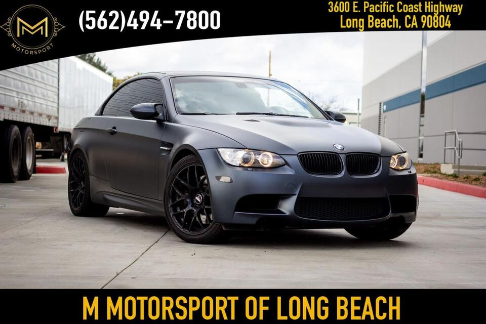 2008_BMW_M3_Convertible 2D_ Long Beach CA