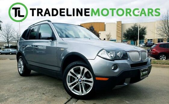 2008 BMW X3 3.0si LEATHER, PANO SUNROOF, POWER LOCKS, AND MUCH MORE!!! CARROLLTON TX