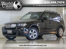 2008_BMW_X3_3.0si NAVI PANORAMIC SUNROOF LEATHER_ Chicago IL
