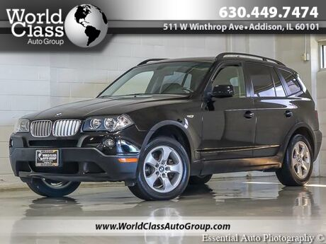 2008 BMW X3 3.0si NAVI PANORAMIC SUNROOF LEATHER Chicago IL