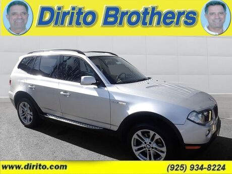 2008 BMW X3 AWD 4dr 3.0si 51718A 3.0si Walnut Creek CA