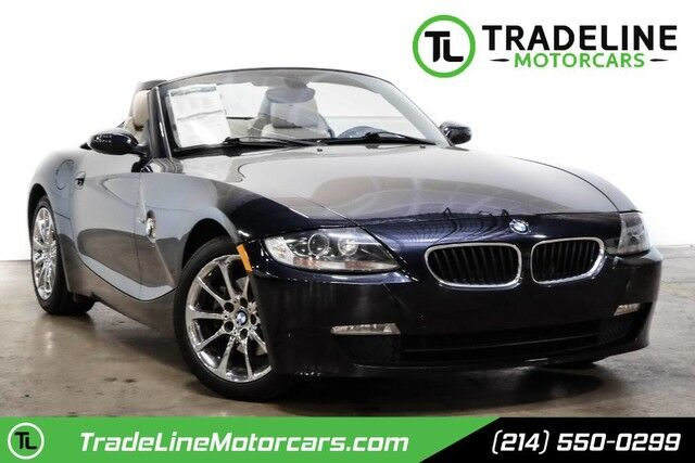 2008 BMW Z4 3.0i LEATHER, SOFT TOP CONVERTIBLE, POWER SEATS AND MUCH MORE!!! CARROLLTON TX