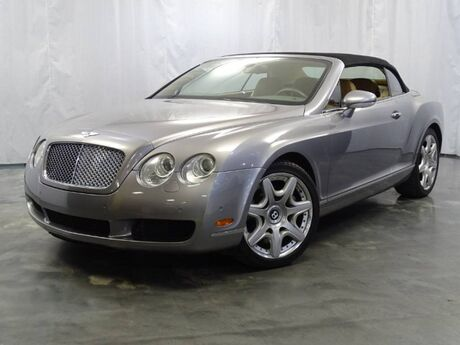 2008 Bentley Continental GT 6.0L 48-Valve Twin-Turbo W12 Engine / Soft CONVERTIBLE Top Addison IL