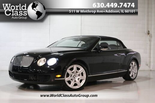 2008 Bentley Continental GT AWD TWIN TURBO ENGINE CONVERTIBLE HEATED LEATHER SEATS NAVIGATION BACKUP CAMERA BLUETOOTH CONNECTIVITY Chicago IL