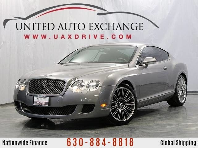 2008 Bentley Continental GT Speed Coupe AWD w/ Bi-xenon Headlamps, Navigation, Bluetooth, Front & Rear Parking Aid with Rear View Camera Addison IL