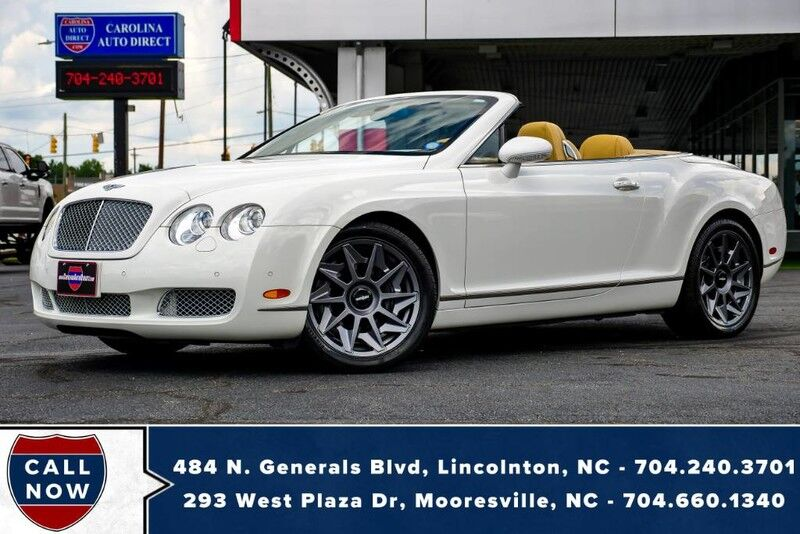 2008 Bentley Continental GTC AWD w/ Heated Front Seats & Rotiform Wheels Mooresville NC