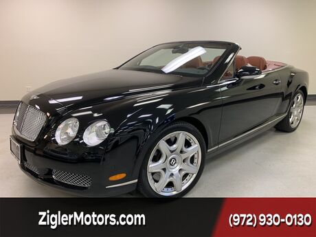 2008 Bentley Continental GTC MULLINER PKG Low miles Clean Carfax Pristine Addison TX