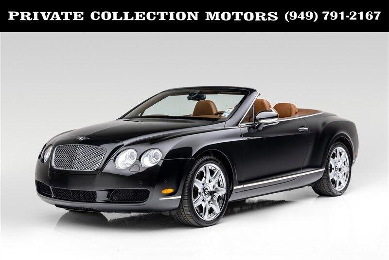 2008 Bentley Continental GTC Mulliner Costa Mesa CA