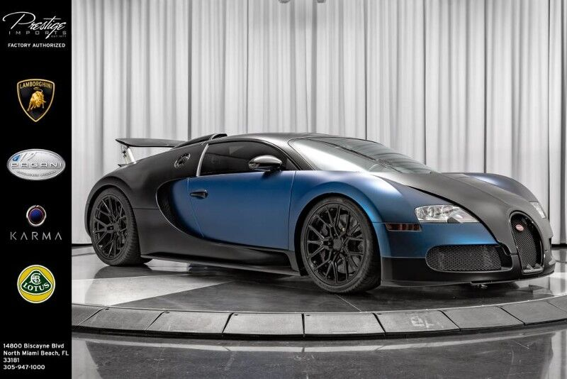 2008_Bugatti_Veyron__ North Miami FL