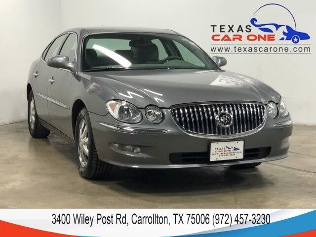 2008 Buick LaCrosse CX HEATED SEATS POWER DRIVER SEAT DUAL CLIMATE CONTROL CRUISE CO Carrollton TX