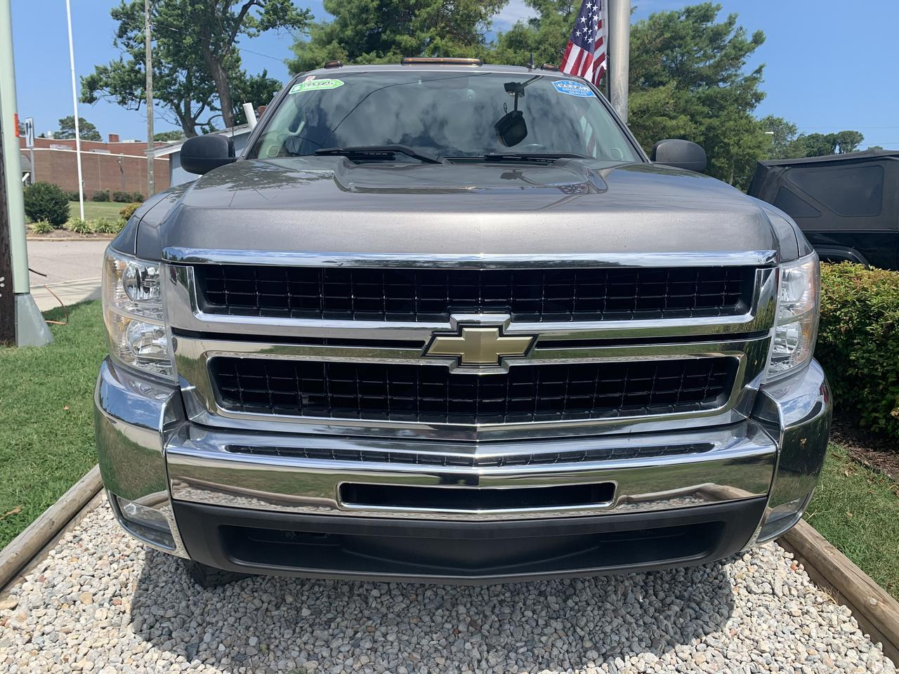 2008 CHEVROLET SILVERADO 2500 2LT CREW CAB 4X4, WARRANTY, PARKING SENSORS, AUX PORT, ONSTAR, SIRIUS SATELLITE RADIO, 1 OWNER! Norfolk VA