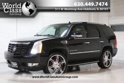 2008_Cadillac_Escalade_AWD HEATED LEATHER SEATS POWER ADJUSTABLE SEATS WOOD GRAIN INTERIOR REAR ENTERTAINMENT SYSTEM NAVIGATION PARKING SENSORS BACKUP CAMERA THIRD ROW_ Chicago IL