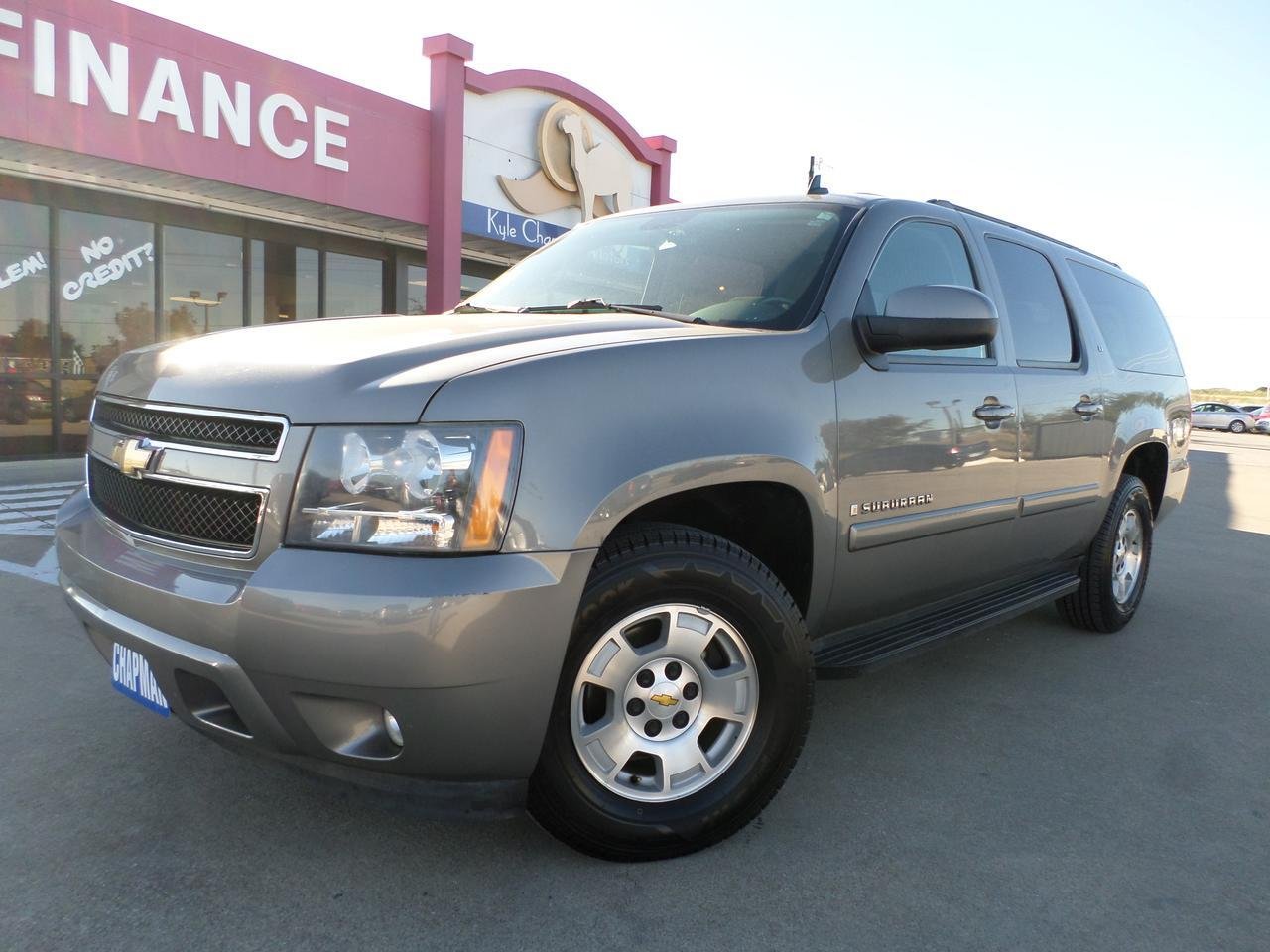 2008 Chevrolet Suburban Cloth-Alloy wheels-CD-3rd row