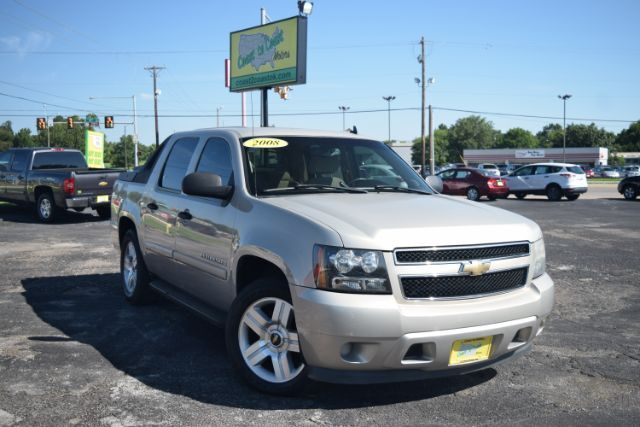 Mazda Dealership Houston >> 2008 Chevrolet Avalanche LT1 2WD Tulsa OK 26247097