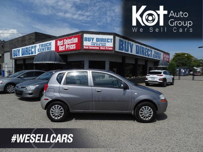 2008 Chevrolet Aveo LT, Manual Transmission Kelowna BC