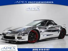 2008_Chevrolet_Corvette_Conv. Supercharged Chrome Wrap Forgiatos Exhaust_ Burr Ridge IL