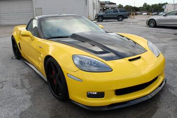 2008_Chevrolet_Corvette_Z06 Great Miles Lots of Upgrades Carbon Fiber_ Houston TX