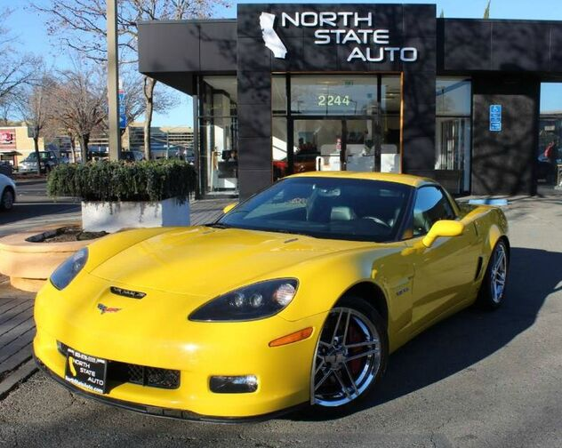 2008_Chevrolet_Corvette_Z06_ Walnut Creek CA