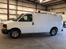 2008_Chevrolet_Express 1500 Cargo Van w/ Ladder Rack & Bins__ Ashland VA
