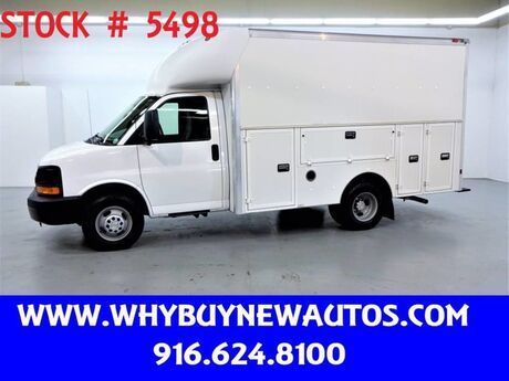 2008 Chevrolet Express 3500 ~ Plumber Body ~ Only 23K Miles! Rocklin CA