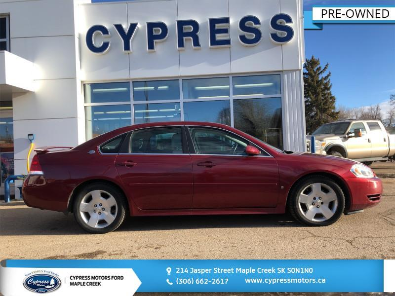 2008 Chevrolet Impala LT 50th Anniversary- New Tires- Well Maintained Maple Creek SK